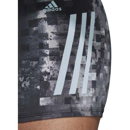 Pánske plavecké boxerky - adidas PRO 3-STRIPES SWIM BOXER - 9