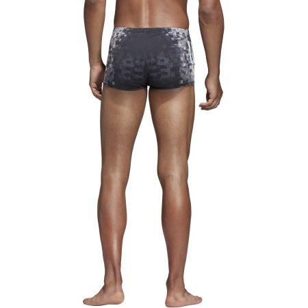 Szorty kąpielowe męskie - adidas PRO 3-STRIPES SWIM BOXER - 6