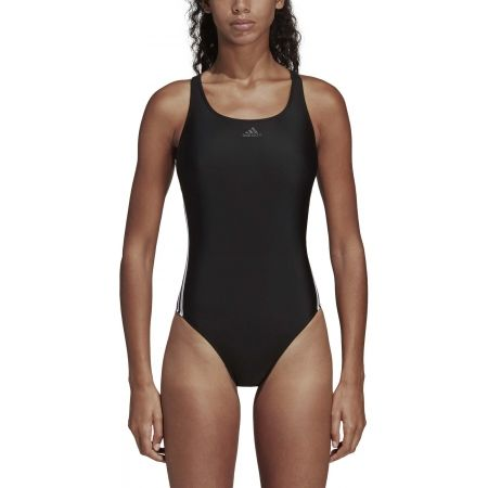 Women's swimsuit - adidas ATHLY V 3 STRIPES SWIMSUIT - 6