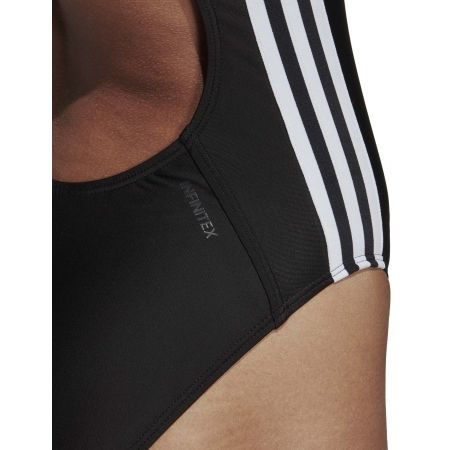 Women's swimsuit - adidas ATHLY V 3 STRIPES SWIMSUIT - 10