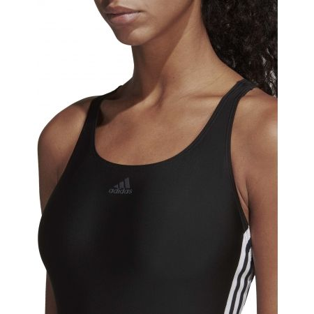 Women's swimsuit - adidas ATHLY V 3 STRIPES SWIMSUIT - 8