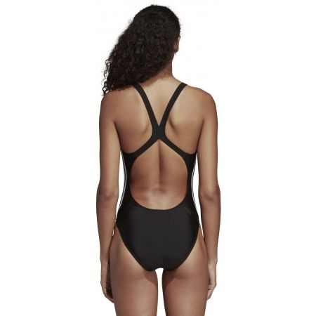 Women's swimsuit - adidas ATHLY V 3 STRIPES SWIMSUIT - 7