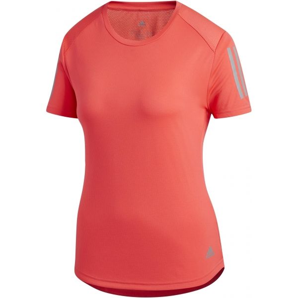 adidas OWN THE RUN TEE piros XL - Női póló futáshoz