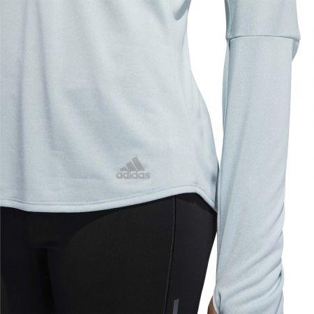 Dámské běžecké tričko - adidas OWN THE RUN ZIP - 8