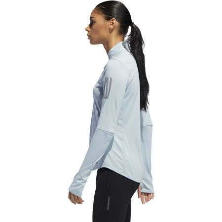 Dámské běžecké tričko - adidas OWN THE RUN ZIP - 5