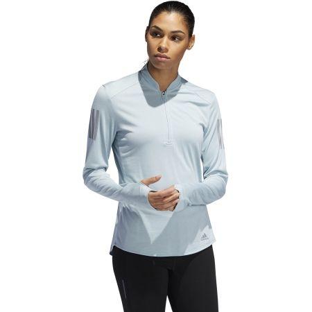 Dámské běžecké tričko - adidas OWN THE RUN ZIP - 4