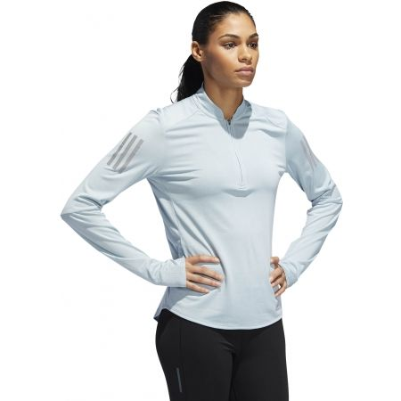 Dámské běžecké tričko - adidas OWN THE RUN ZIP - 6