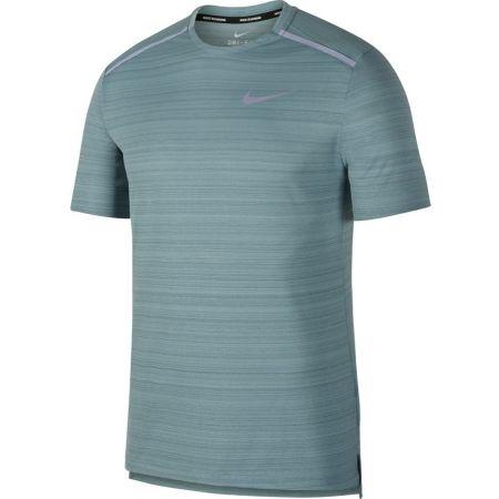 Tricou alergare bărbați - Nike NK DRY MILER TOP SS - 1