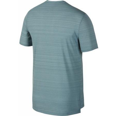 Pánske bežecké tričko - Nike NK DRY MILER TOP SS - 2