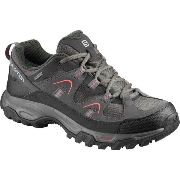 Salomon FORTALEZA GTX W šedá 6 - Dámská hikingová obuv