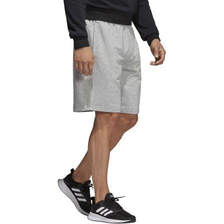 Pánske šortky - adidas ESSENTIALS PLAIN SHORT FRENCH TERRY - 5