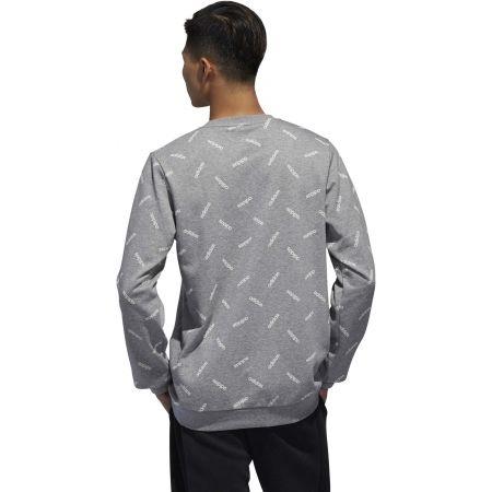 Men's sweatshirt - adidas PRINT SWEATSHIRT - 7