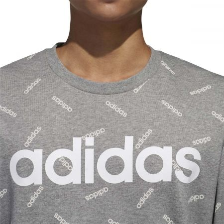 Men's sweatshirt - adidas PRINT SWEATSHIRT - 8