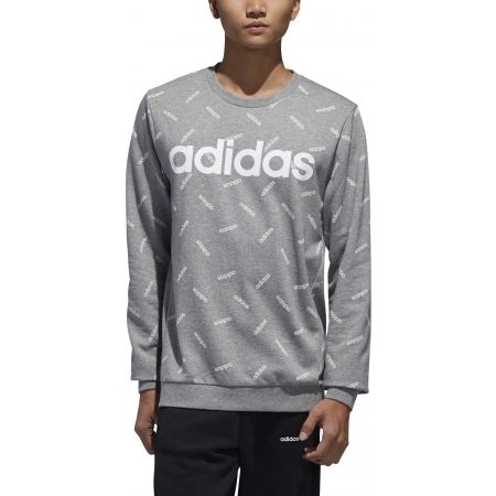 Men's sweatshirt - adidas PRINT SWEATSHIRT - 3