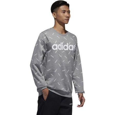 Men's sweatshirt - adidas PRINT SWEATSHIRT - 6