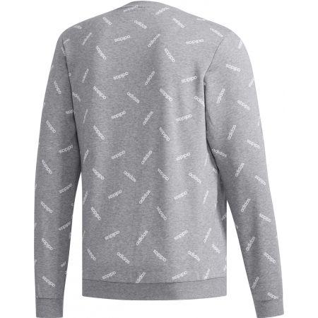 Men's sweatshirt - adidas PRINT SWEATSHIRT - 2