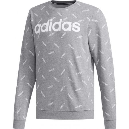 Men's sweatshirt - adidas PRINT SWEATSHIRT - 1