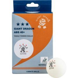 Giant Dragon WHT PI PO - Piłeczki do tenisa stołowego