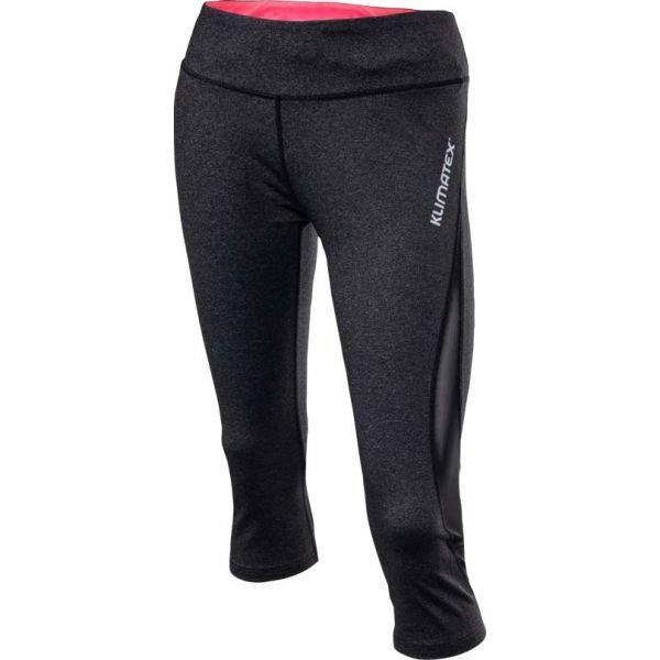 Klimatex BAPTISA sötétszürke L - Női háromnegyedes legging