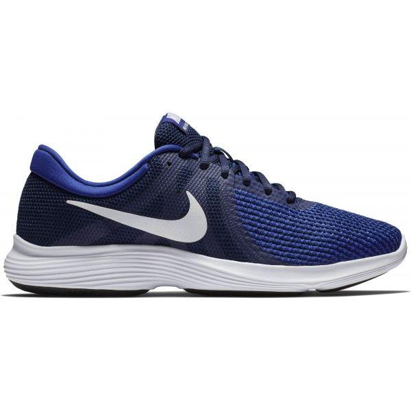 Nike REVOLUTION 4 EU modrá 9.5 - Pánská běžecká obuv
