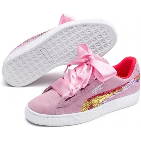 Puma SUEDE HEART TRAILBLAZER SQ - Kids' walking shoes