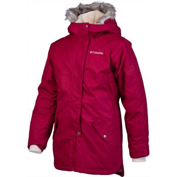 Columbia CARSON PASS MID JACKET červená L - Dětský kabátek
