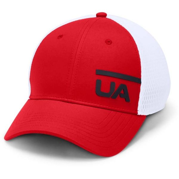 Under Armour MEN'S TRAIN SPACER MESH CAP červená M/L - Pánska  šiltovka