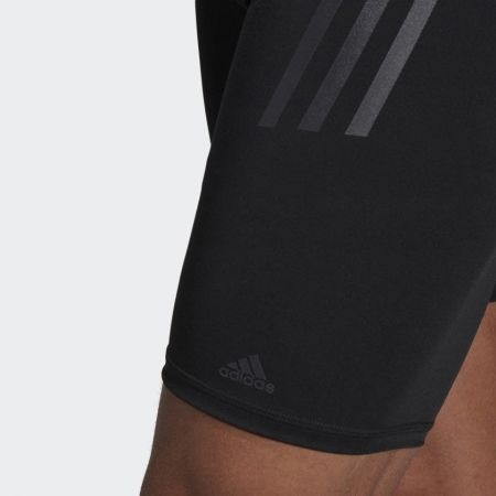 Men's compression swimsuit - adidas PRO 3-STRIPES SWIM JAMMER - 7