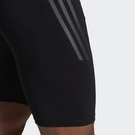 Men's compression swimsuit - adidas PRO 3-STRIPES SWIM JAMMER - 9
