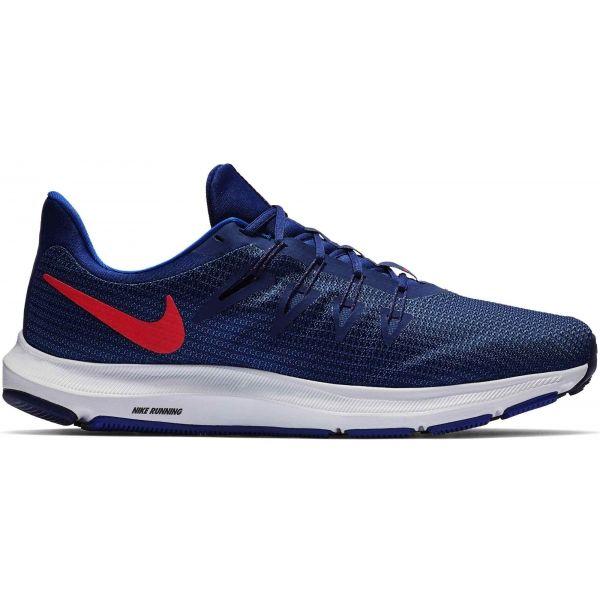 Nike QUEST modrá 10.5 - Pánská běžecká obuv