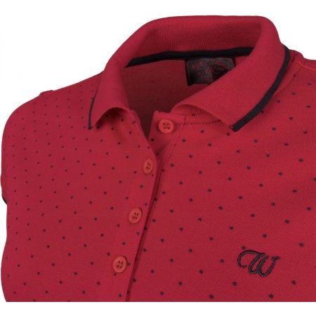 Women's T-shirt with a collar - Willard MELANY - 4