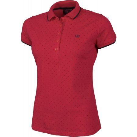 Women's T-shirt with a collar - Willard MELANY - 2