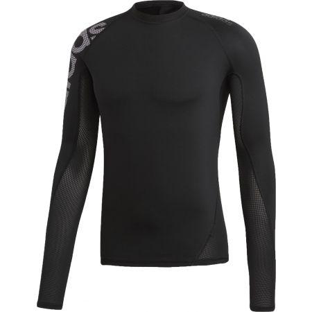 09261e3377e3 Pánske športové tričko - adidas ALPHASKIN BADGE OF SPORT - 1