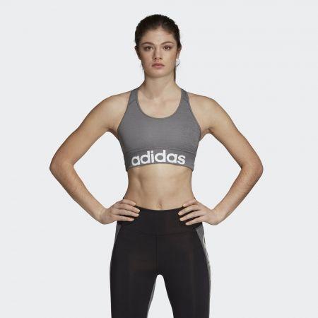 Women's sports bra - adidas DESIGN 2 MOVE LOGO BRA - 3