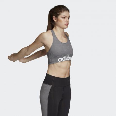 Women's sports bra - adidas DESIGN 2 MOVE LOGO BRA - 5