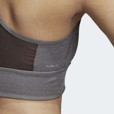 Women's sports bra - adidas DESIGN 2 MOVE LOGO BRA - 9