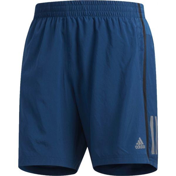 adidas OWN THE RUN SH modrá L - Pánské sportovní šortky