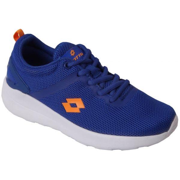 Lotto SCRAT modrá 36 - Dětská volnočasová obuv