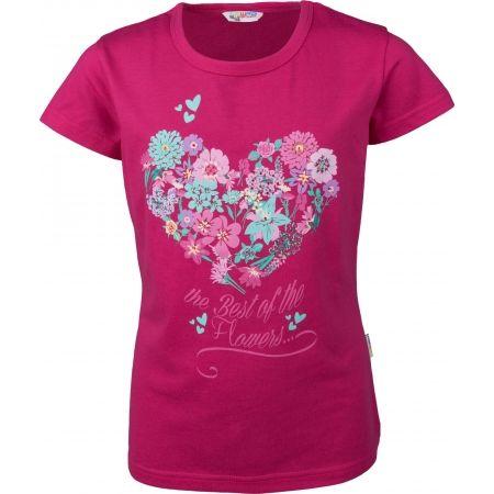 Tricou cu mâneci scurte de fete - Lewro MILLY - 1