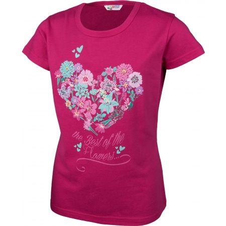 Tricou cu mâneci scurte de fete - Lewro MILLY - 2