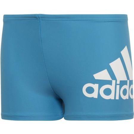 adidas Badge Fitness Boxer Badehose Blau | adidas Deutschland