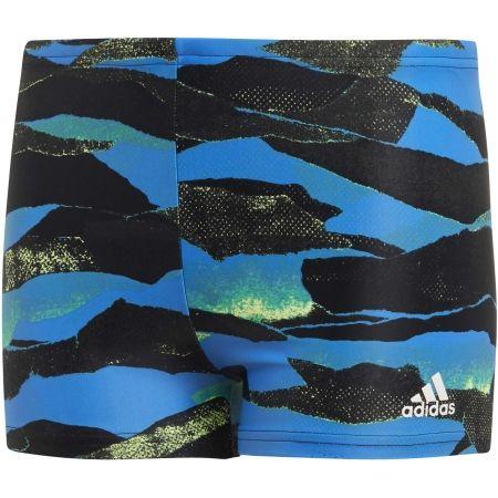adidas FITNESS GRAPHIC SWIM BOXER BOYS - Chlapecké sportovní plavky