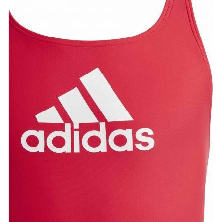 Girls' swimsuit - adidas BADGE OF SPORTS SWIMSUIT GIRLS - 3