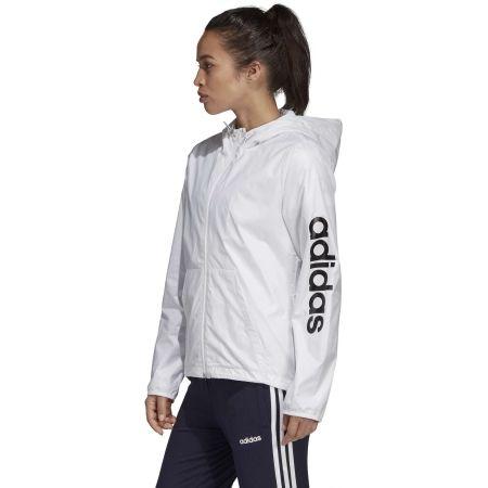 Women's jacket - adidas ESSENTIALS LINEAR WINDBREAKER - 4