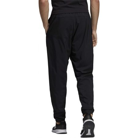 Men's pants - adidas ESSENTIALS PLAIN TAPERED STANFORD ELASTICATED HEM LINED - 5