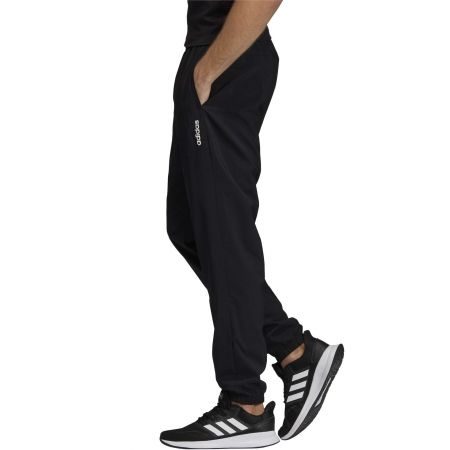 Men's pants - adidas ESSENTIALS PLAIN TAPERED STANFORD ELASTICATED HEM LINED - 4