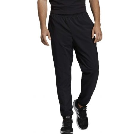 Men's pants - adidas ESSENTIALS PLAIN TAPERED STANFORD ELASTICATED HEM LINED - 3