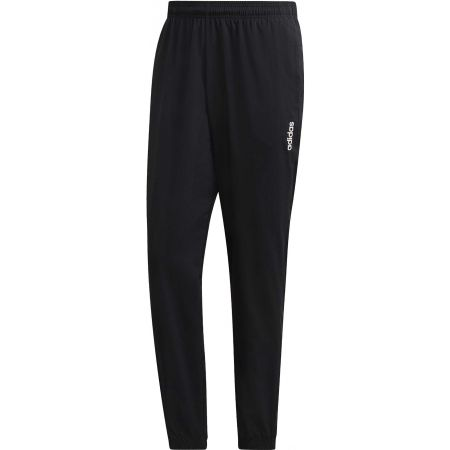 adidas ESSENTIALS PLAIN TAPERED STANFORD ELASTICATED HEM LINED - Pantaloni de bărbați