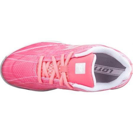 Dívčí tenisová obuv - Lotto MIRAGE 300 ALR JR - 5