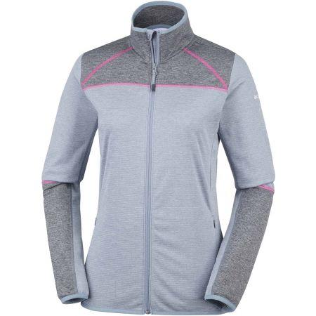 Women's fleece jacket - Columbia BAKER VALLEY FULL ZIP FLEECE - 1